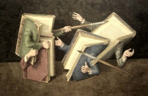 Wolstenholme Jonathan a literary joust