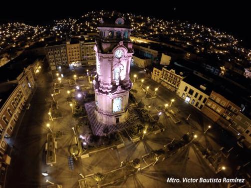 Miradas al viento, fotografías aéreas sobre la ciudad