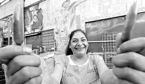 Lourdes Ruiz, la reina del albur