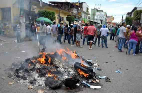 Tixtla, Guerrero en el día de las elecciones